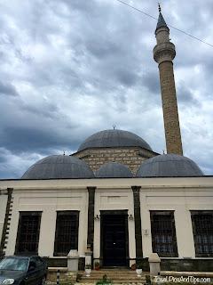La mosquée de plomb dans la quartier de Mangalem, a Bérat, en Albanie