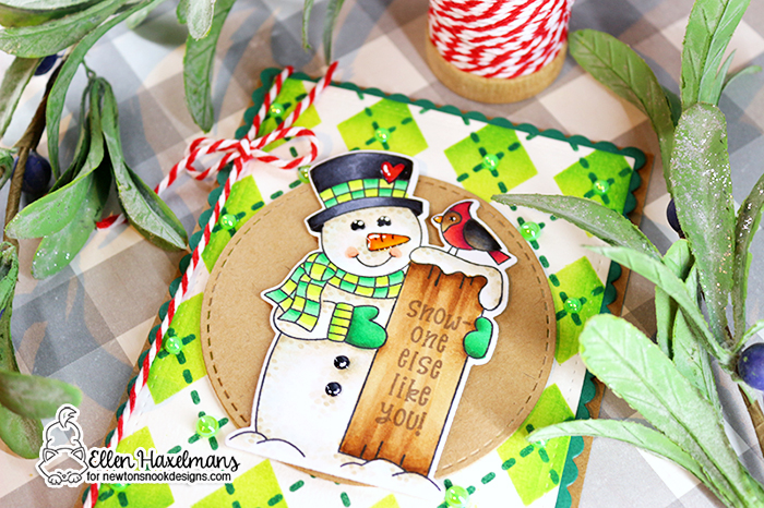 #newtonsnookdesigns #nnd #card #cardmaking #stamps #distress #ink #handmade #stamp #set #dies #copiccoloring #copicmarkers #copic #card #blog #hop #2020 #winter #release #christmas #Agryle #stencil #Snowman #Greetings #paperart #hobby #drawing #copic #marker #Release #November