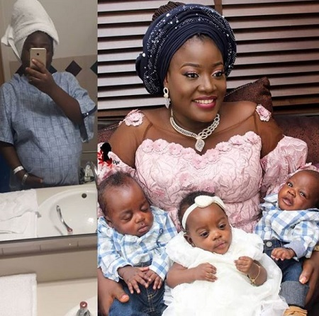 Nigerian Woman Welcomes Triplets After Six Years of Marriage