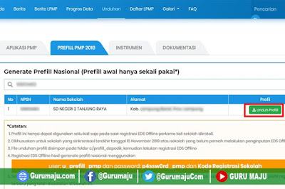 Download Prefil PMP Nasional (Prefil Alternative)