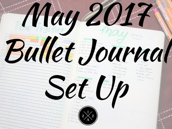 May 2017 Bullet Journal Set Up