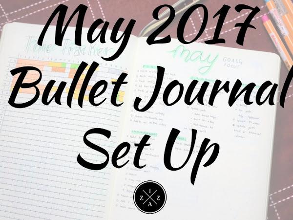 May 2017 Bullet Journal Set Up