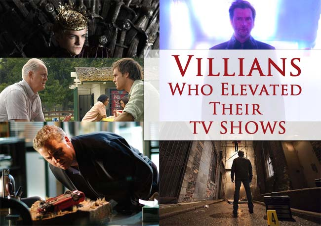 Villains who Elevated Their TV Shows #AtoZChallenge