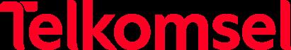 Logo Baru Telkomsel 411x72