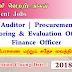 Internal Auditor | Procurement Officer | Monitoring & Evaluation Officer | Finance Officer  - சுகாதார, போசணை மற்றும் சுதேச வைத்திய அமைச்சு.