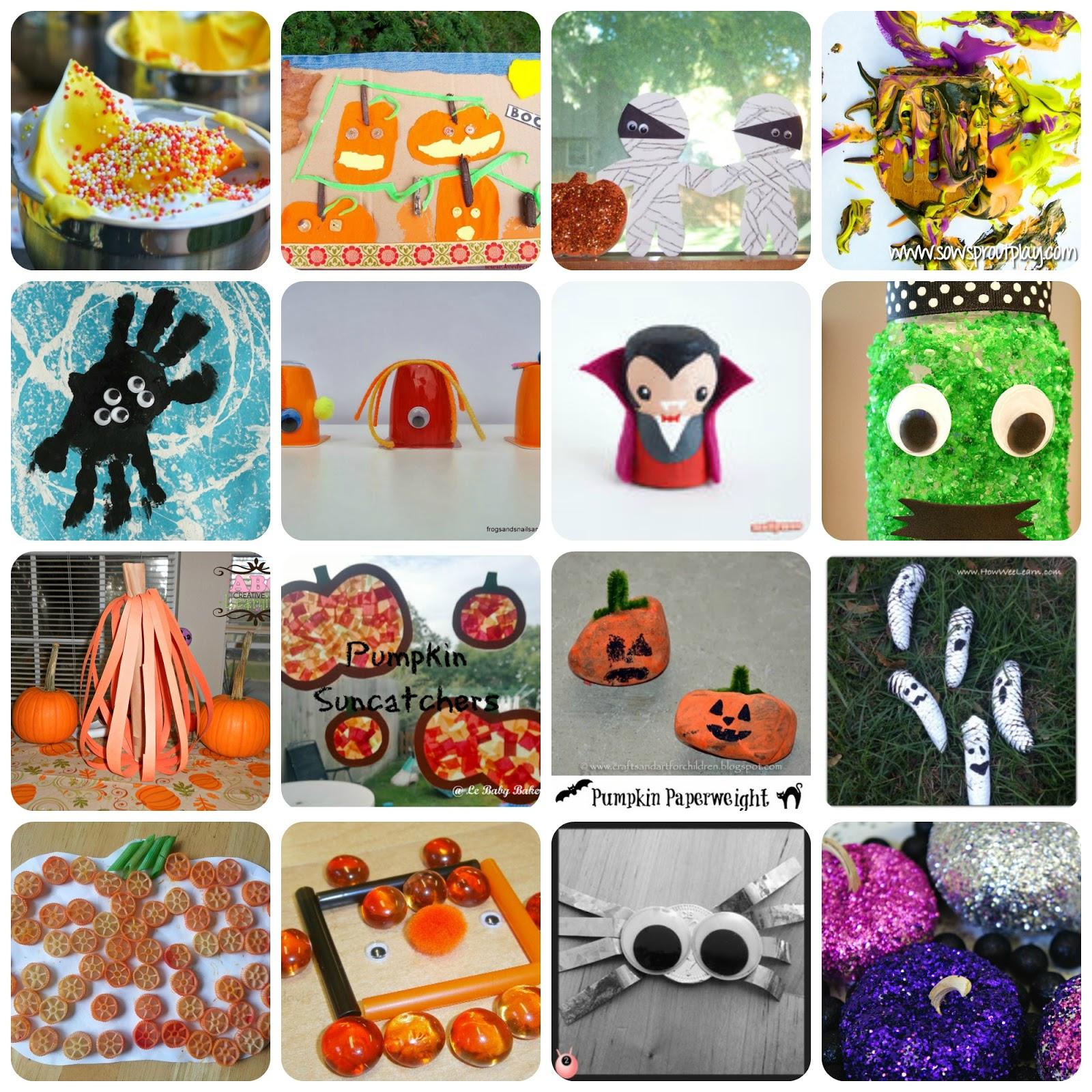 Halloween Ideas Arts And Crafts: 100+ Halloween Activities For Kids: Kid's Co-op