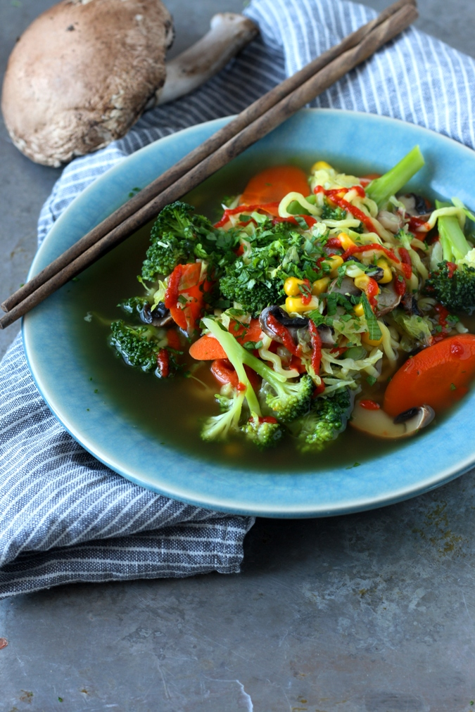 how to make leftover vegetable soup