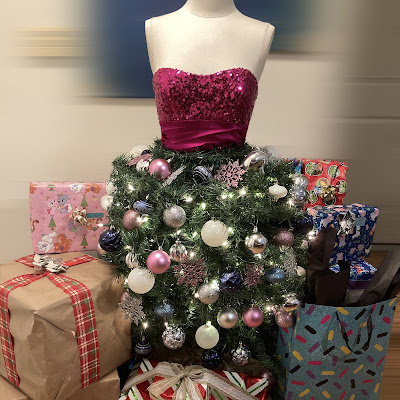 DIY Mannequin Dollar Tree Christmas Tree