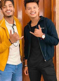 Riyaz Aly With Pratik Gaur