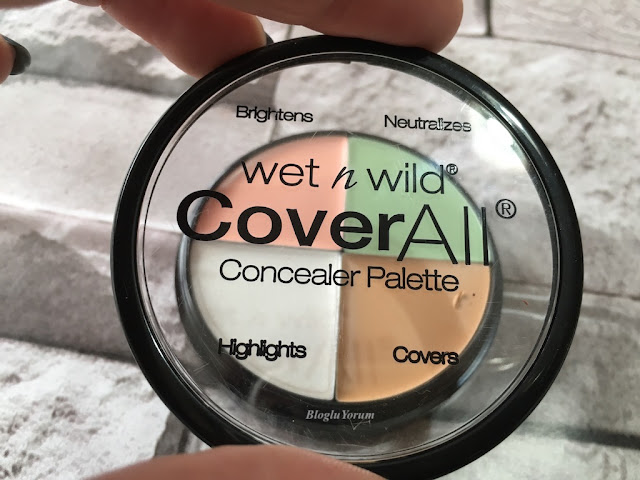 wet n wild coverall concealer palette incelemesi 2
