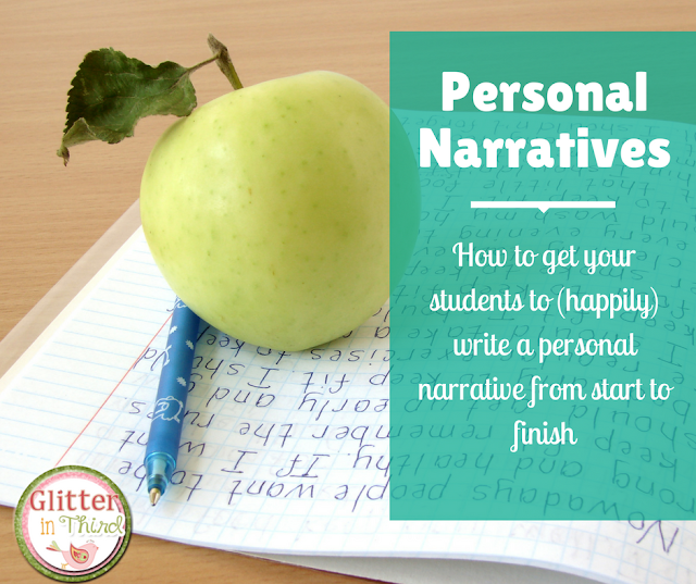 Not sure how to structure your personal narrative writing unit? Check out the unit laid out from start to finish- from various examples for an anchor chart, mentor text, and lots of great read alouds!