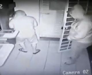 Bandidos roubam R$ 20 mil de lotérica vizinha a destacamento de polícia no interior da PB