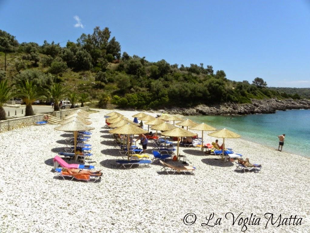 spiaggia di Ammouso  Lefkada