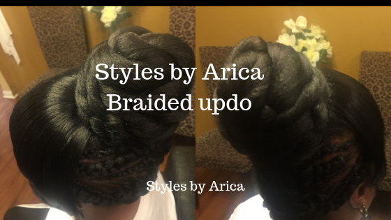 Styles by Arica Braided Updo