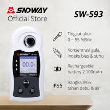 Digital Refractometer Brix 0-55% SNDWAY SW-593 | Jual
