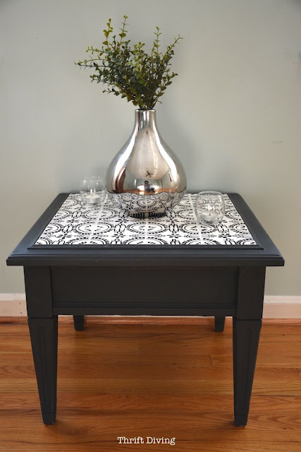 How to tile a table top with ceramic tiles.