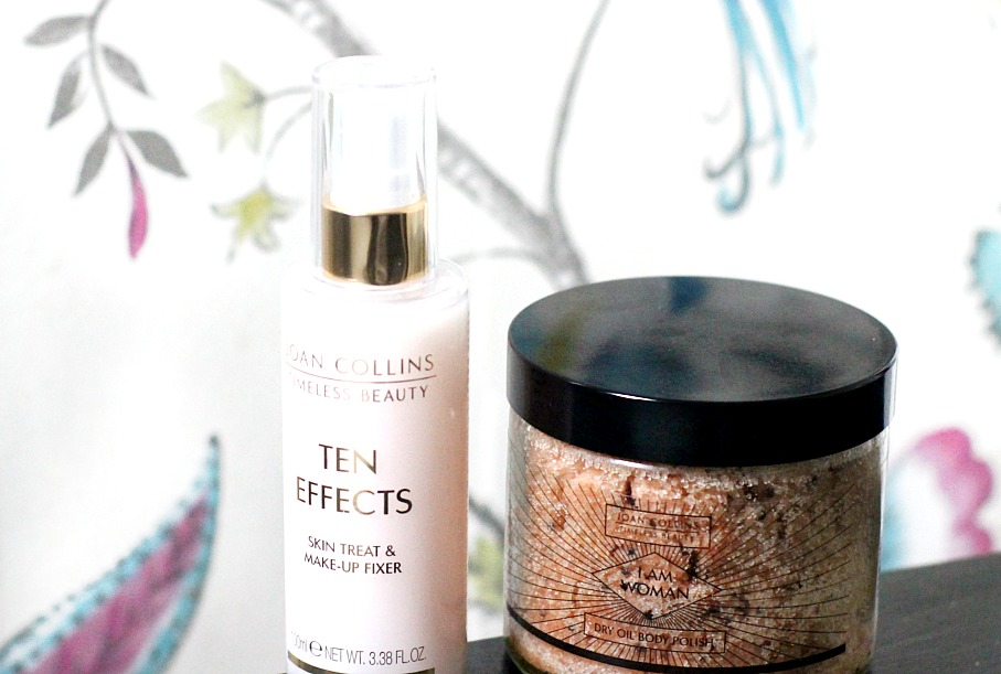 joan collins Ten effects skin treat and makeup fixer review