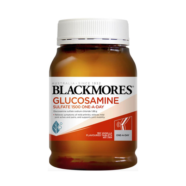 Blackmores Glucosamine Sulfate 1500mg One-A-Day 180 viên
