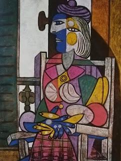 Женщина перед окном, 1937 Пикассо