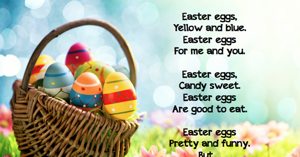 Easter poem freebie grade onederful negle Images