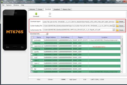 Flash Oppo A12 CPH2083 via Sp Flashtool Tested