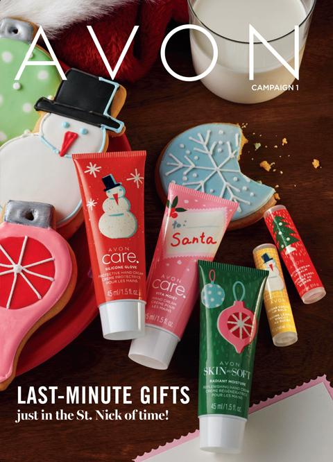 AVON Brochure Campaign 1 2021 - Last-Minute Gifts
