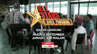 Live Streaming All Stars Buka Panggung Online