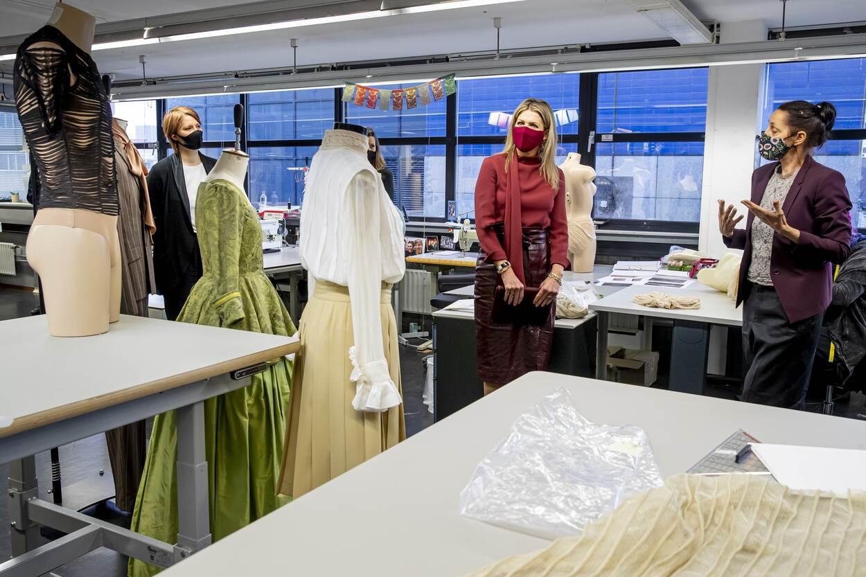 Queen Maxima visited Netherlands Dance Theater