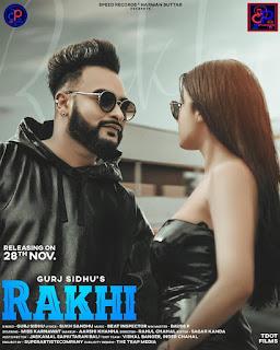 Rakhi Song Official Lyrics   Gurj Sidhu - DjPunjabNew.CoM