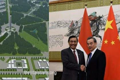 Cina, Selamat Datang di Ibukota Baru Indonesia. Huanying!