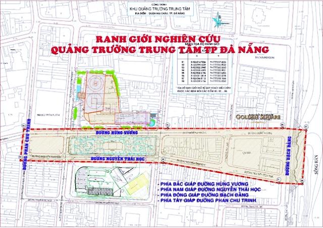 Quy hoạch quảng trường trung tâm thành phố Đà Nẵng