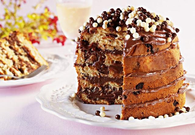 Venha saborear essa deliciosa sobremesa para o natal, que tal panetone  com brigadeiro? Venha saborear essa delícia mo blog.