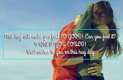 Beautiful Happy Hug Day Message 2017