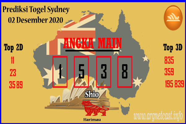 Syair Sydney 2 Desember 2020