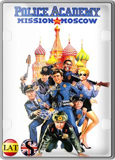 Loca Academia de Policía 7: Misión en Moscú (1994) FULL HD 1080P LATINO/ESPAÑOL/INGLES