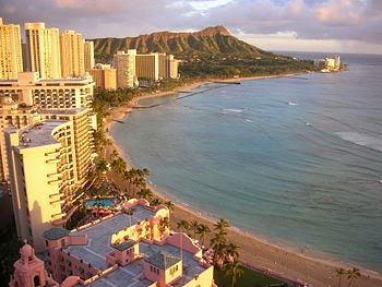 Waikiki Beach Honolulu, Hawaiian Islands Oahu
