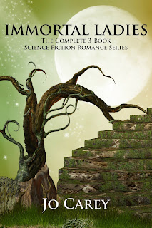 Immortal Ladies: The Complete 3-Book Science Fiction Romance Series by Jo Carey