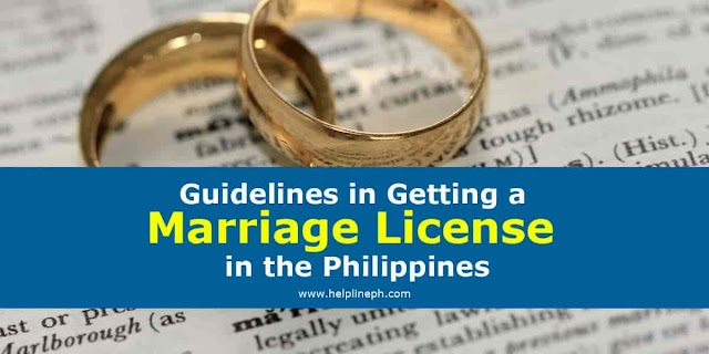 Guidelines in Getting a Marriage License in the Philippines