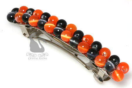 Hauntingly Cute Halloween Beaded Barrette (HC101)