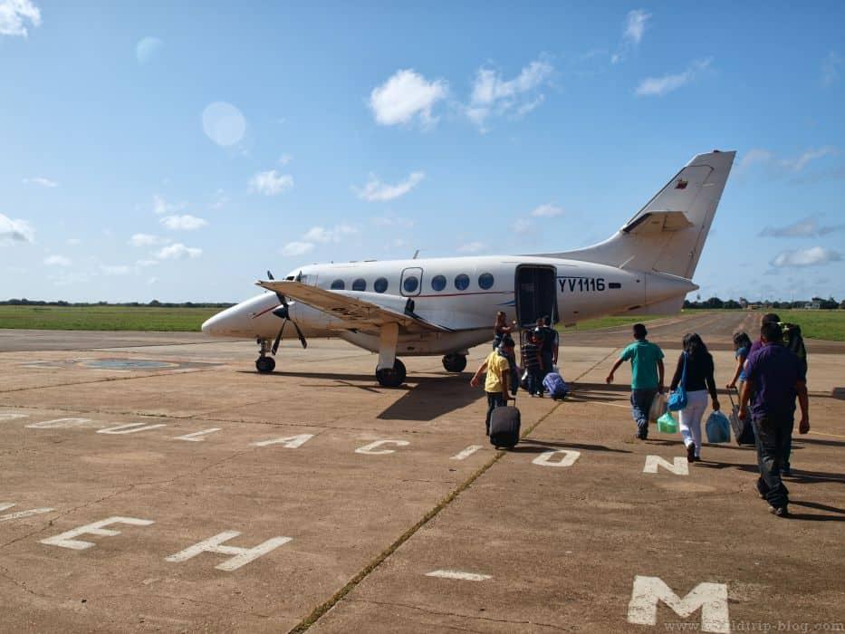 Самолет до Ауян-тепуи в Венесуэле