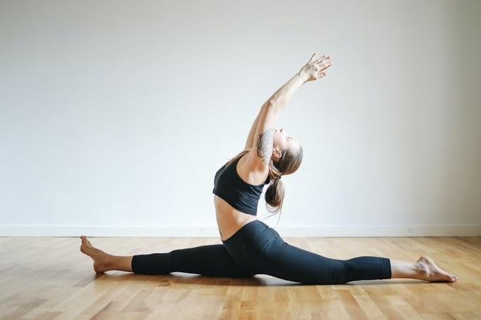 How to do the splits - Yoga poses for getting full split
