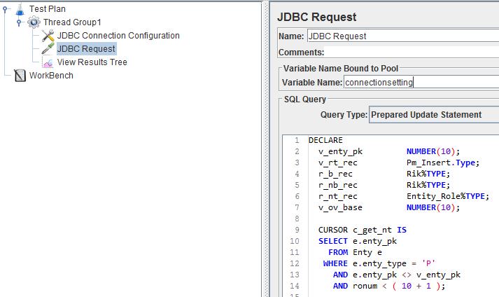 TECH KNOW STUDY: JDBC Connection Through JMeter