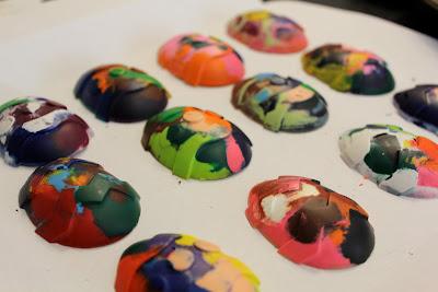 easter egg crayons diy