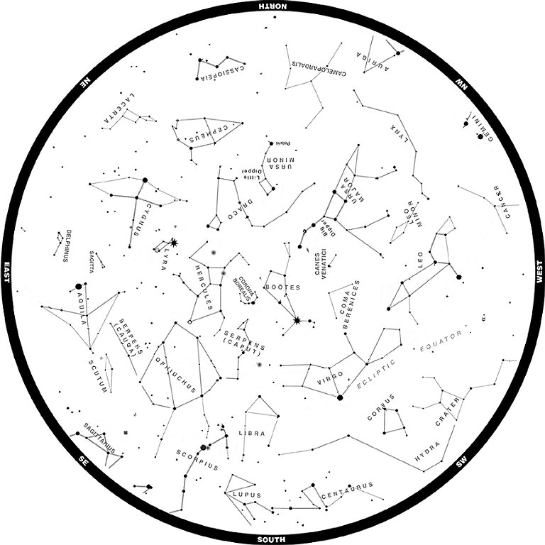 The Girl Scout Life: Summer Constellations