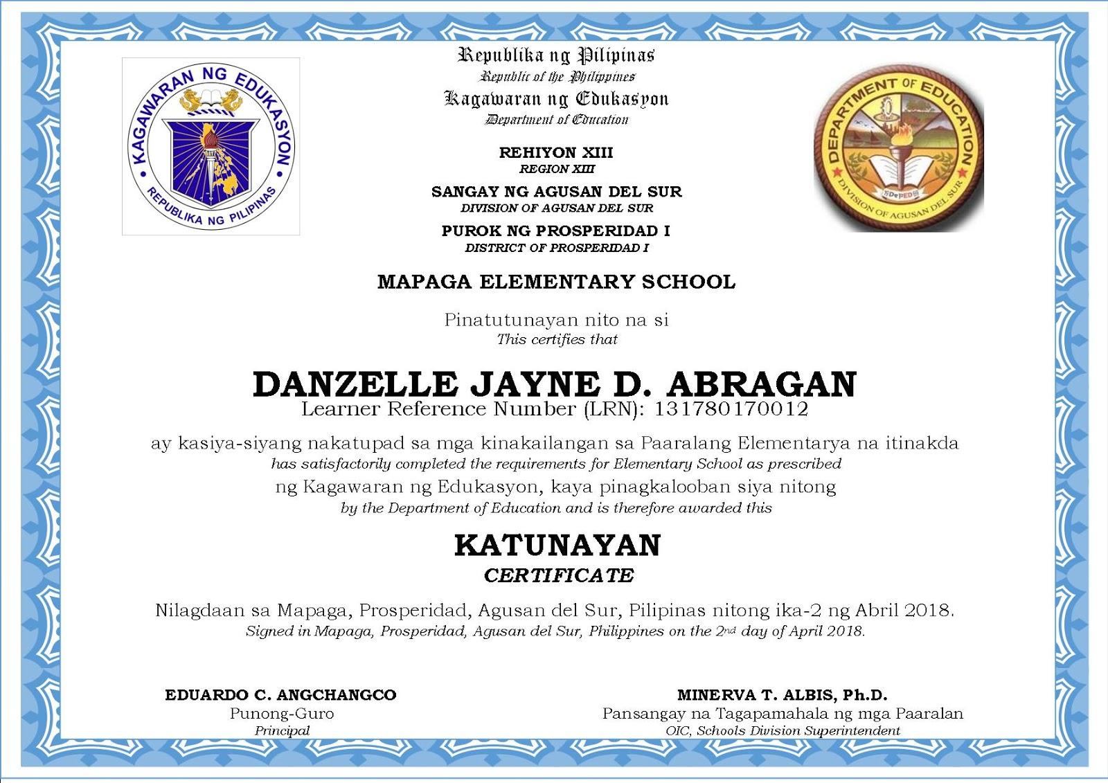 New Kindergarten Certificate & Graduation Program Templates - DepEd LP's
