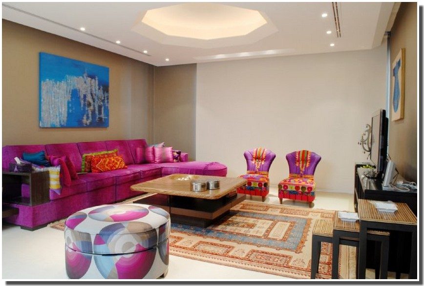 Nassima Home: Salon arabe moderne