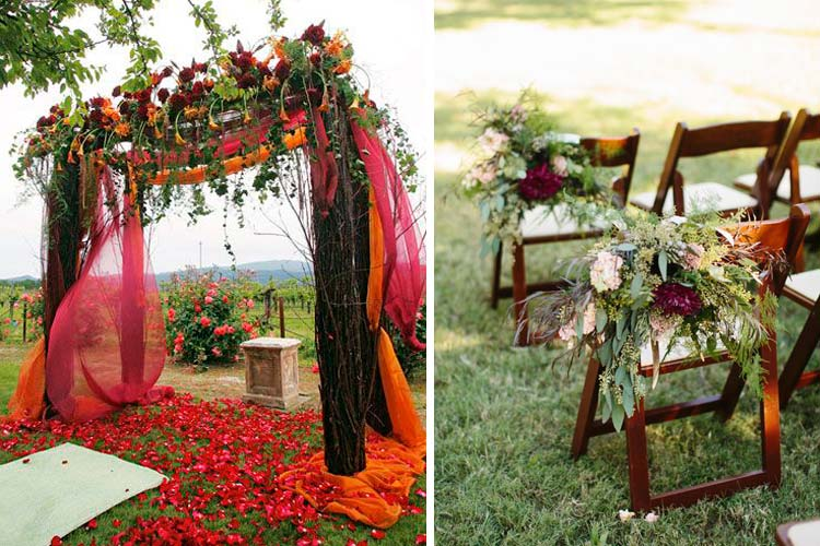 Marzua decoraci n de bodas de oto o - Decoracion de otono ...