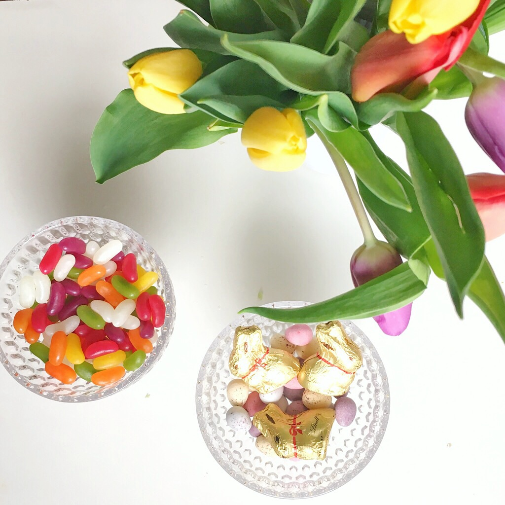 Tulips and sweets