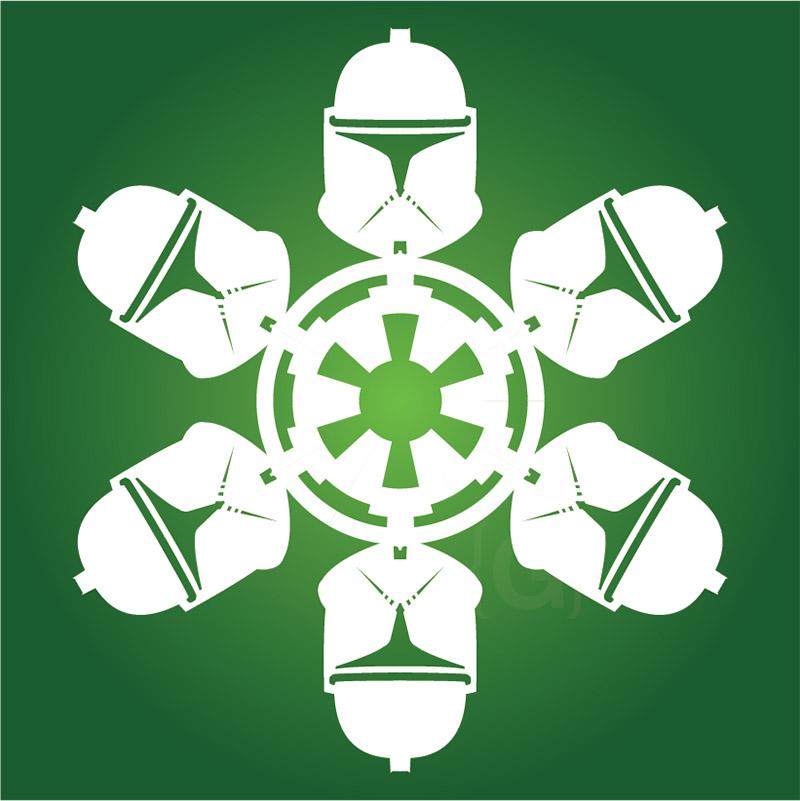 clone trooper snowflake
