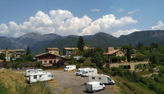Àrea d'autocaravanes de Sant Llorenç de Morunys